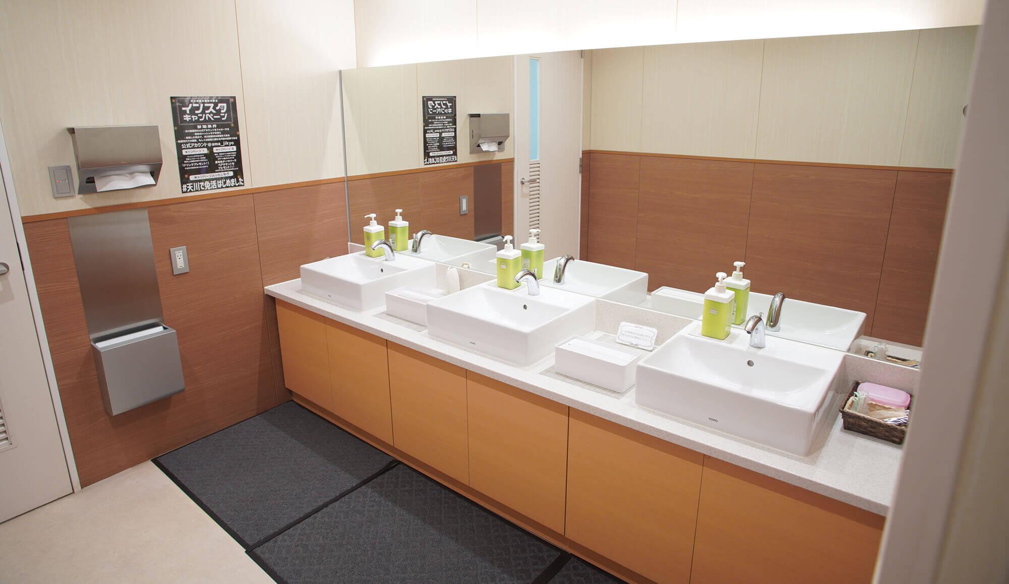 前橋天川自動車教習所 トイレ